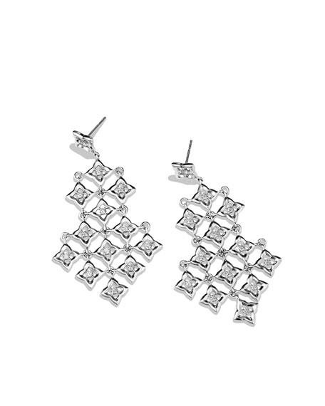 Quatrefoil™ Chandelier Earrings with Diamonds