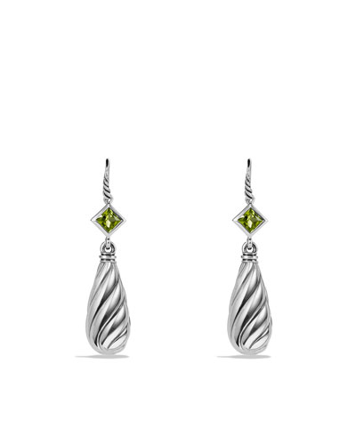David Yurman Color Classics Earrings with Peridot