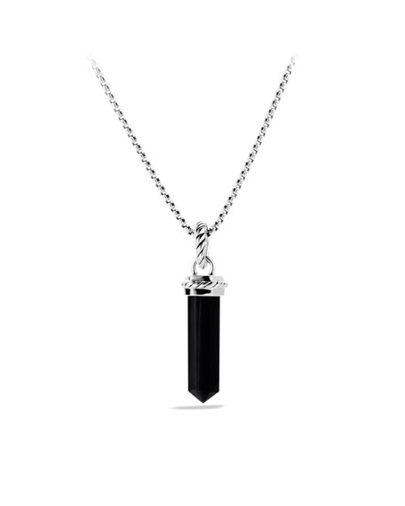 Cable Collectibles Charm with Black Onyx