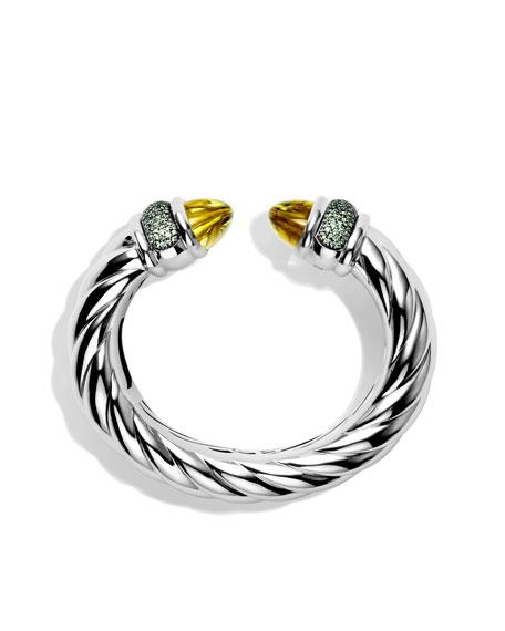 Waverly Bracelet with Lemon Citrine and Demantoid Garnets