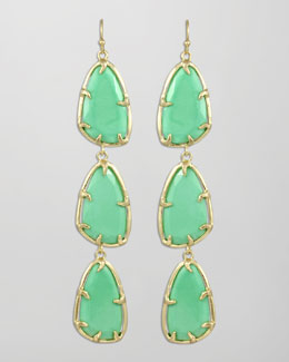 Kendra Scott Lillian Drop Earrings, Seafoam