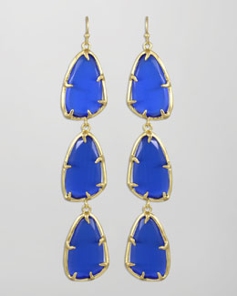 Kendra Scott Lillian Drop Earrings, Cobalt
