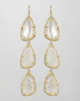 Kendra Scott Lillian Drop Earrings, Pearl