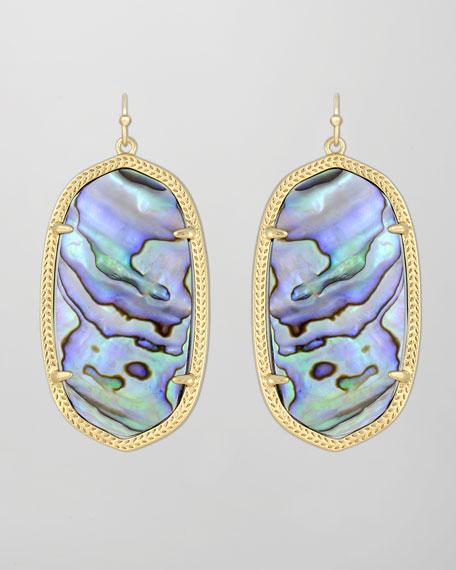 Danielle Earrings, Abalone