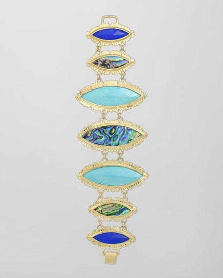 Sarita Bracelet, Blue