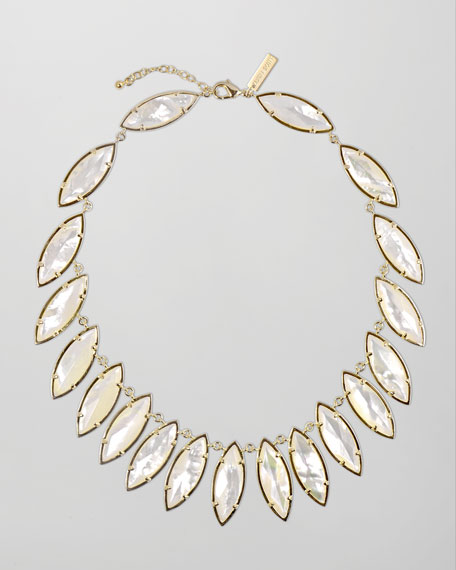 Nalin Mother-of-Pearl Necklace