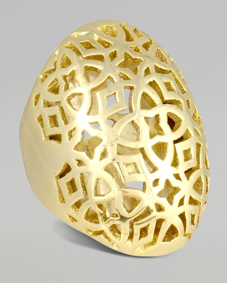 Rochelle Gold-Plated Ring