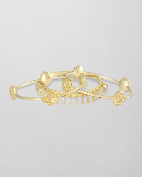 Elin Bangle Bracelets, Set of 3