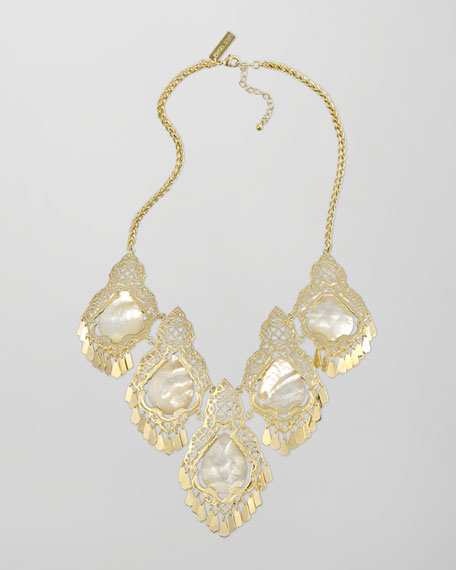 Valora Mother-of-Pearl Necklace