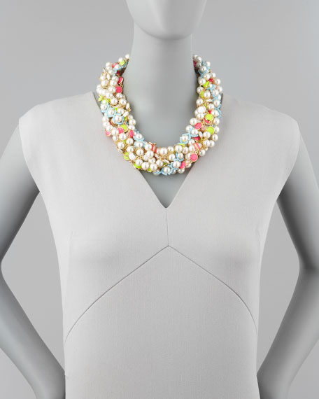 bungalow bouquet twist necklace