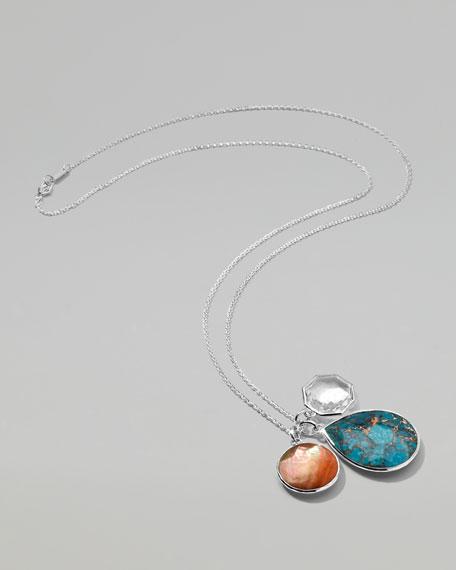 Wonderland Triple-Pendant Necklace