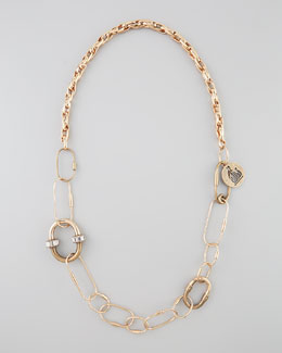Lanvin Long Golden Chain Necklace/Belt