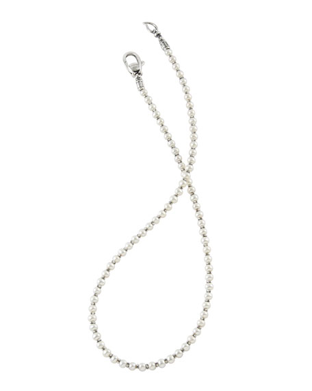 """Pearl Necklace, 18""""L"""