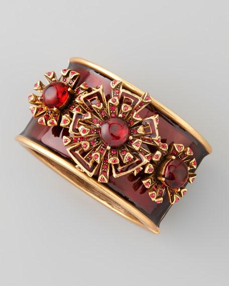 Firework Bracelet, Ruby Red