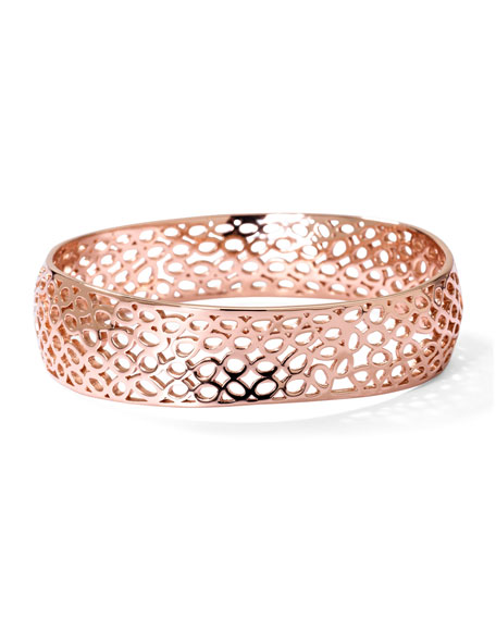 Rose Digital Lace Wavy Bangle
