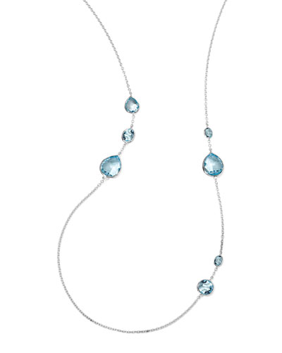 Ippolita Rock Candy Gelato Necklace, Blue Topaz
