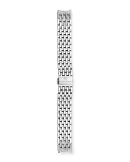 MICHELE 18mm Serein Diamond Stainless Steel Watch Bracelet