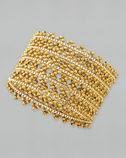 Nakamol Five-Strand Ball Bead Wrap Bracelet