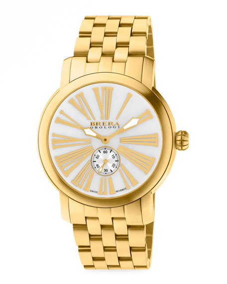 Valentina III Golden Watch Head, 42mm