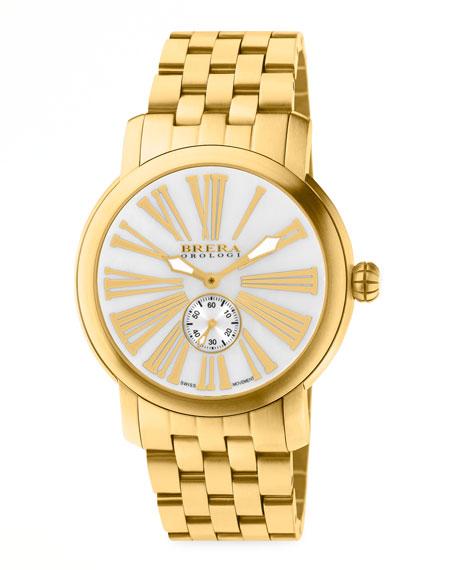 Valentina III Golden Watch Head, 42mm