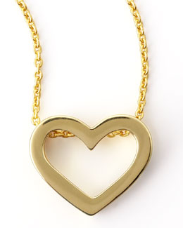 Roberto Coin 18k Yellow Gold Heart Necklace