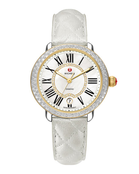 16mm Serein Diamond Watch Head, Two-Tone