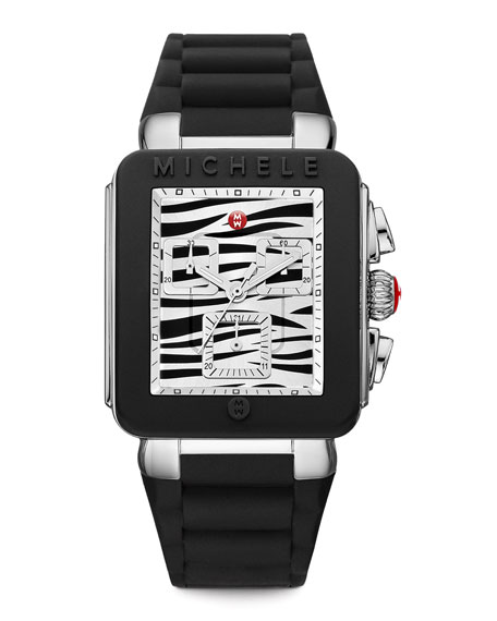 Park Jelly Bean Watch, Black/Zebra