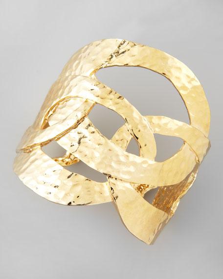Cutout Cuff, Golden
