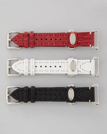 Diamond Selleria Watch Head, Bracelet, & Straps Box Set