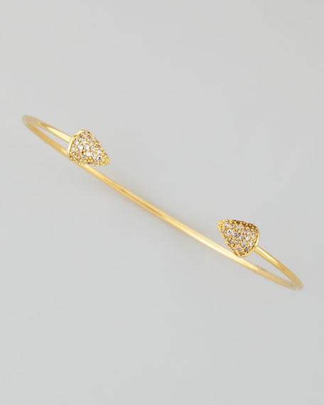 Crystal Spike Pinch Bracelet
