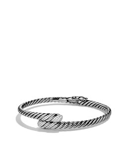 David Yurman Willow Single-Row Bracelet with Diamonds