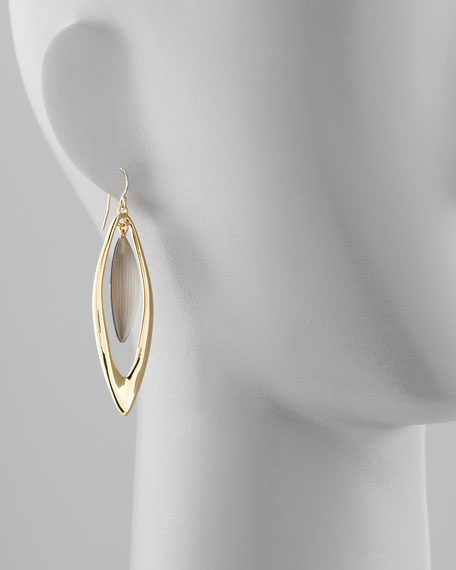 Neo Boho Large Marquise Drop Earrings