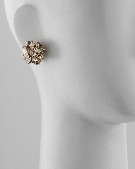 Neo Boho Marquise Clip-On Earrings