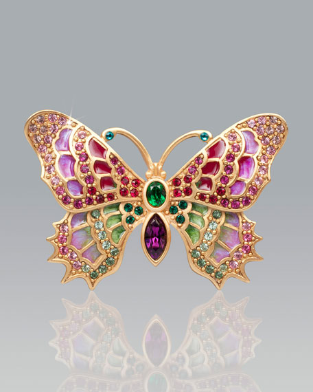Irie Embellished Butterfly Pin
