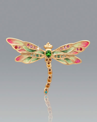 Candice Bejeweled Dragonfly Pin