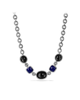 David Yurman Ultramarine Necklace with Black Orchid and Lapis Lazuli