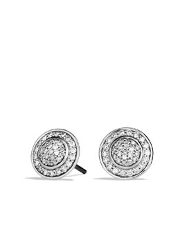 David Yurman Cerise Mini Earrings with Diamonds