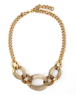 Alexis Bittar Neo Boho 3-Link Chain Necklace