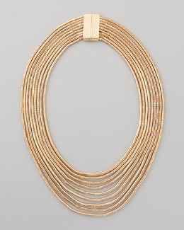 Jules Smith Skinny Tiered Tube Necklace