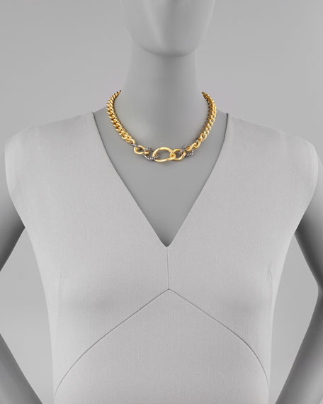 Single-Strand Chain Link Necklace
