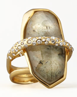 Alexis Bittar Orbiting Labradorite Ring