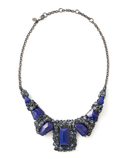 Alexis Bittar Nova Large Custom Lapis Necklace