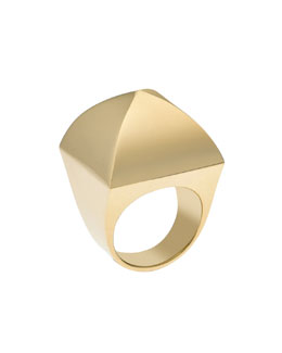 Michael Kors Pyramid Ring, Golden