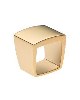 Michael Kors Square Ring, Golden