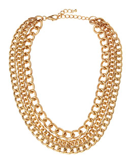 Jules Smith Small Curb Link Necklace