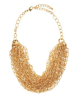 Jules Smith Chunky Oval Chain-Link Necklace