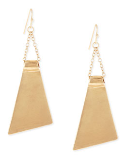 Jules Smith Wide-Petal Earrings