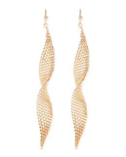 Jules Smith Mesh Wave Earrings