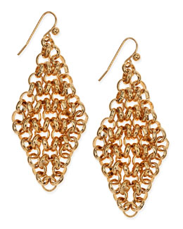 Jules Smith Golden Rolo Cascade Earrings