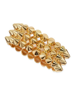 Jules Smith 3-Row Mini Spike Stretch Bracelet